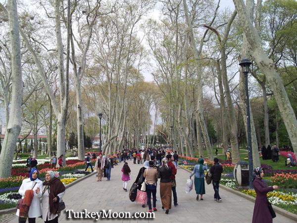 حديقة جولهانة في اسطنبول تركيا
