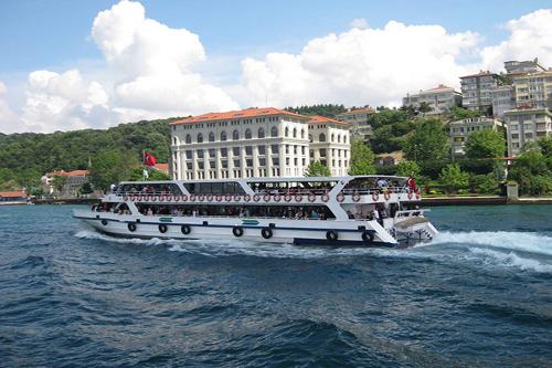 وسائل النقل البحرية والرحلات السياحية في اسطنبول