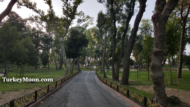 حديقة اميرجان في اسطنبول تركيا