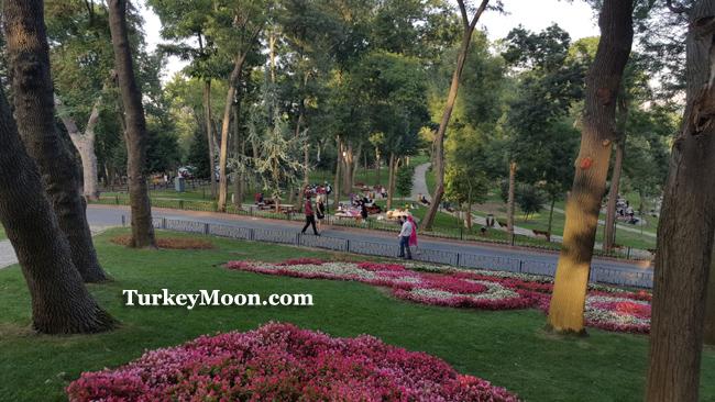 حديقة اميرجان كوروسو في اسطنبول
