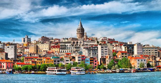 برج جالاتا في اسطنبول