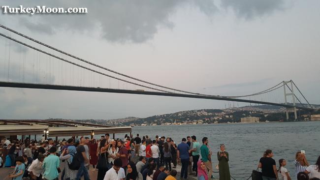 منطقة اورتاكوي في اسطنبول بشكتاش