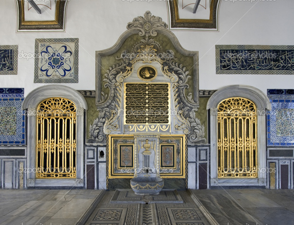 قصر توبكابي بالاس في اسطنبول السلطان احمد