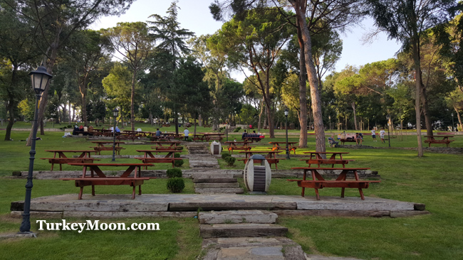 حديقة اميرجان كوروسو اسطنبول