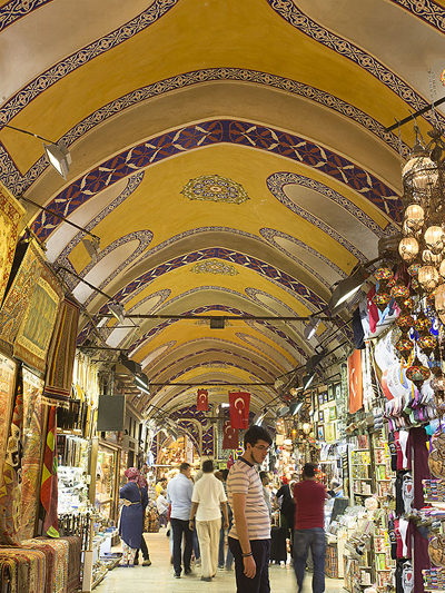 سوق جراند بازار في اسطنبول