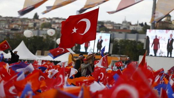 نتائج الانتخابات التركية 2015