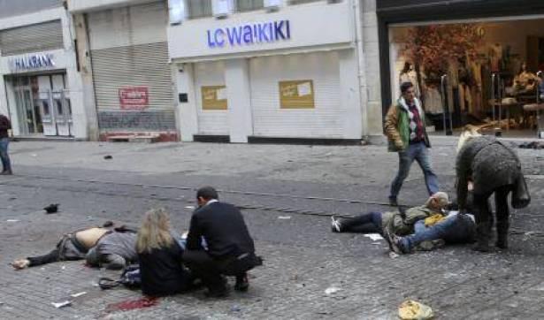 انفجار اسطنبول شارع الاستقلال