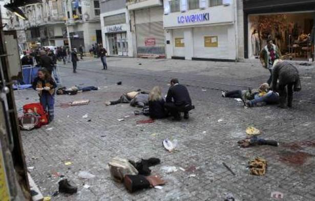 تفجير اسطنبول شارع الاستقلال