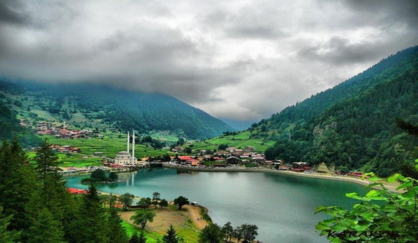بحيرة اوزنجول تركيا