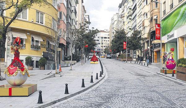 شارع نيشانتاشي بالقرب من فندق ذا هاوس نيصانتاصي اسطنبول
